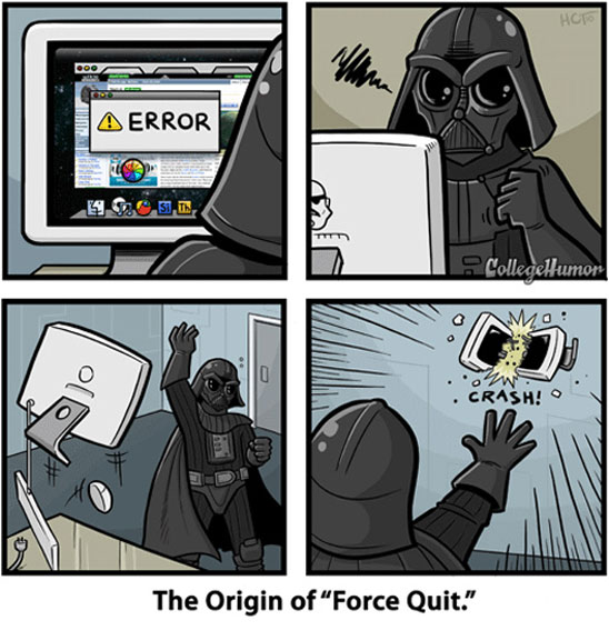 The Origin of Force Quit