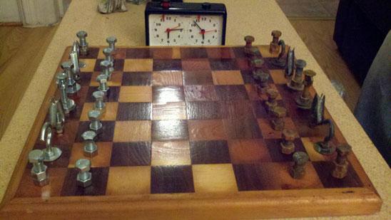 Diy Steampunk Chess Set Rob And Lauren