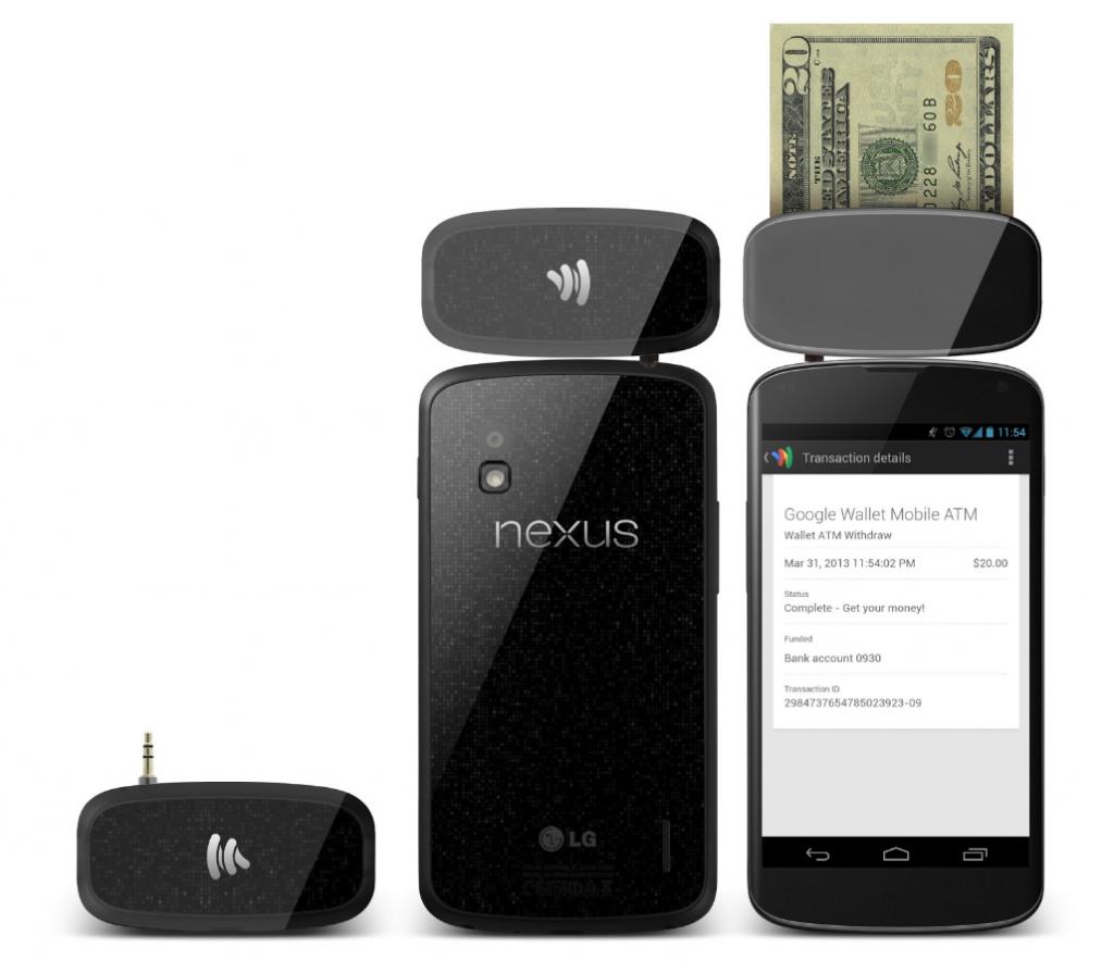 Google Wallet Mobile ATM